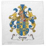 Gropp Family Crest Cloth Napkin