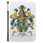 Gropp Family Crest Kindle 3G Cases