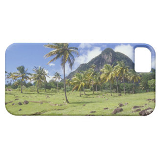 Gros Piton view along the historic trail in iPhone 5 Cases