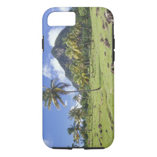 Gros Piton view along the historic trail in iPhone 7 Case