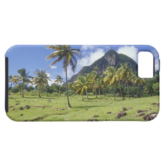 Gros Piton view along the historic trail in iPhone SE/5/5s Case