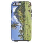 Gros Piton view along the historic trail in iPhone 6 Case