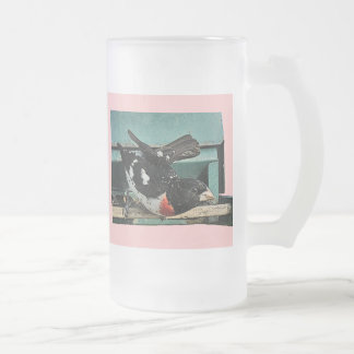 Grosbeak Glass Mug