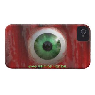 Gross Eyeball & Flesh Horror Funny iPhone Case