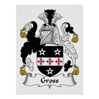 Gross Family Crest Poster