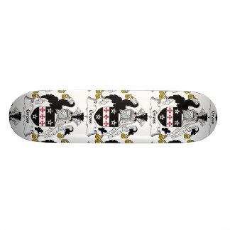 Gross Family Crest Skate Board Deck