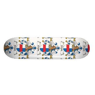 Gross Family Crest Skate Board