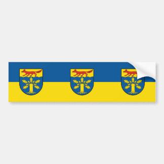 Gross Gievitz, Germany flag Bumper Sticker