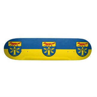 Gross Gievitz, Germany flag Skate Deck