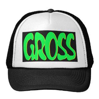 gross trucker hat