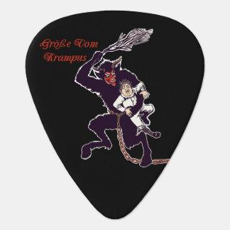 Gross Vom Krampus Guitar Pick