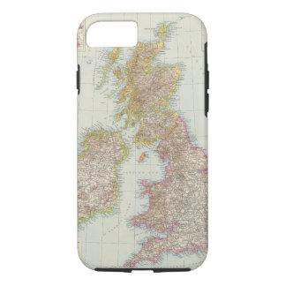 Grossbritannien, Irland - Map of UK, Ireland iPhone 8/7 Case