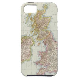 Grossbritannien, Irland - Map of UK, Ireland iPhone SE/5/5s Case