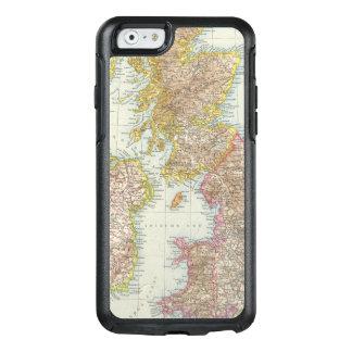 Grossbritannien, Irland - Map of UK, Ireland OtterBox iPhone 6/6s Case