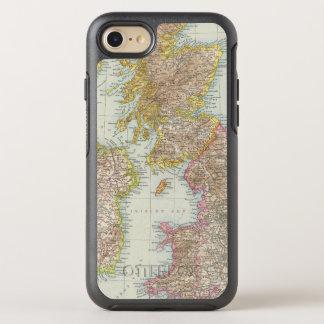 Grossbritannien, Irland - Map of UK, Ireland OtterBox Symmetry iPhone 8/7 Case