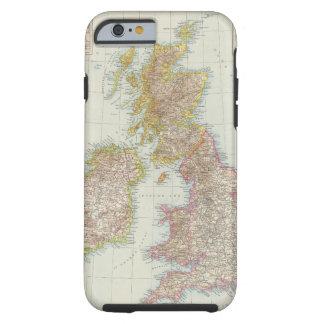 Grossbritannien, Irland - Map of UK, Ireland Tough iPhone 6 Case