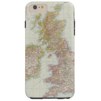 Grossbritannien, Irland - Map of UK, Ireland Tough iPhone 6 Plus Case