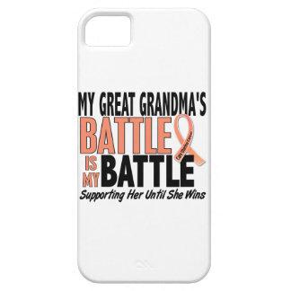 Große Großmutter-uteriner Krebs de Mein Kampf-zu iPhone 5 Cárcasas