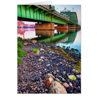 Grosse Ile Parkway Bridge Sunrise II Card