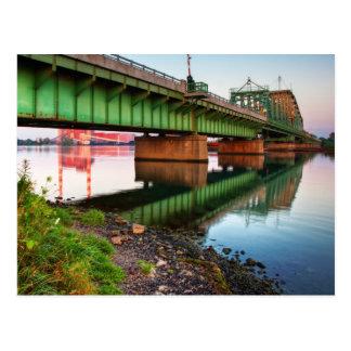 Grosse Ile Parkway Bridge Sunrise Postcard