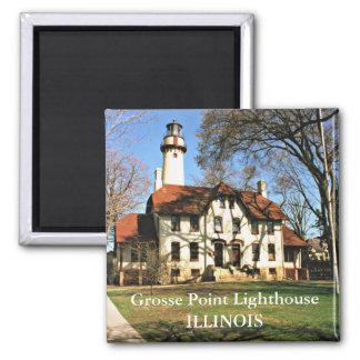 Grosse Point Lighthouse, Illinois Magnet