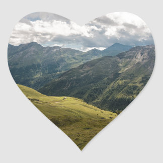Grossglockner  valley heart sticker