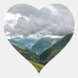 Grossglockner valley sec heart sticker