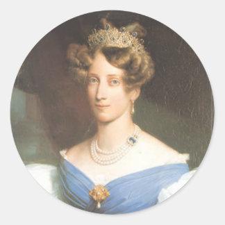 Grossherzogin Sophie von Baden Pegatina Redonda