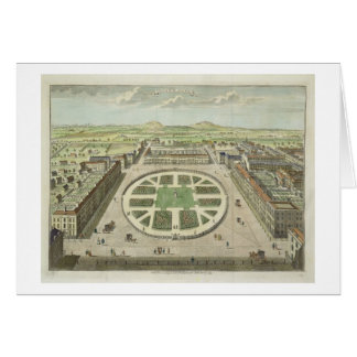 Grosvenor Square, for 'Stow's Survey of London', p Card