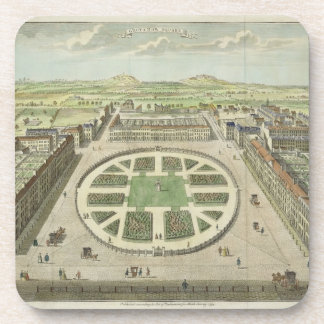 Grosvenor Square, for 'Stow's Survey of London', p Drink Coasters