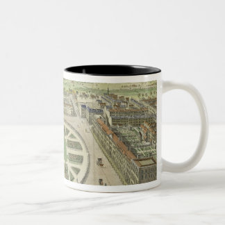 Grosvenor Square, for 'Stow's Survey of London', p Two-Tone Coffee Mug