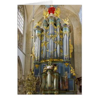 Grote Kerk, Breda, gracias cardar Tarjeta