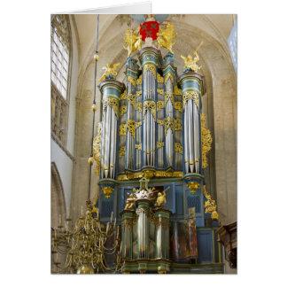 Grote Kerk, Breda, gracias cardar Tarjeta De Felicitación