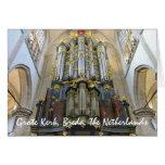 Grote Kerk, Breda, los Países Bajos Tarjeta Pequeña