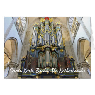 Grote Kerk, Breda, The Netherlands Stationery Note Card