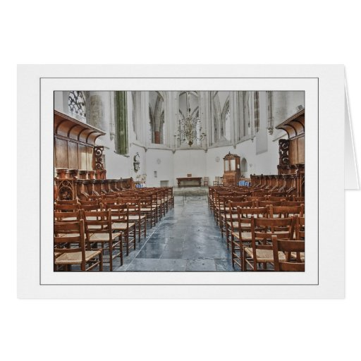 Grote Kerk in Breda Tarjeta De Felicitación