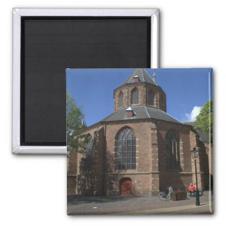 Grote Kerk, Naarden 2 Inch Square Magnet