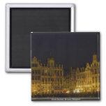 Grote Market, Brussel, Belgium Refrigerator Magnet