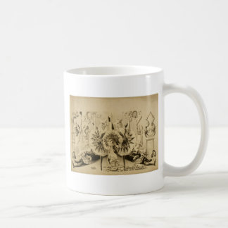 Grotesque Gyrations by Gifted Eccentriques Retro T Classic White Coffee Mug