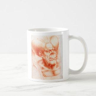 Grotesque Head by Da Vinci Coffee Mug