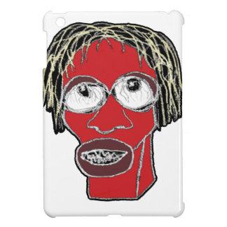 Grotesque Man Caricature Illustration iPad Mini Cover