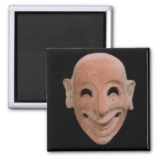 Grotesque mask from Motya 6th century BC terrac Fridge Magnet