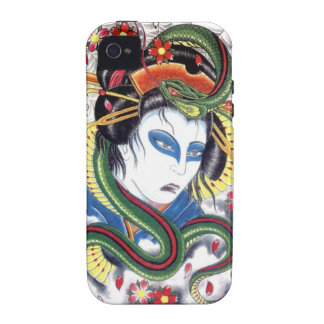 Grotesque & Snake iPhone 4 Cover