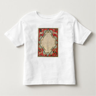 Grotesques, illustration from the toddler t-shirt