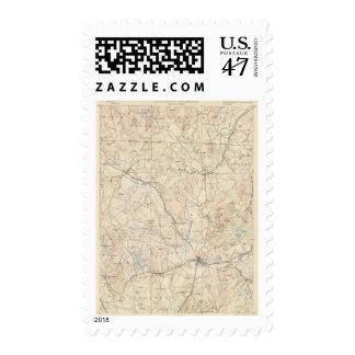 Groton, Massachusetts Sello Postal