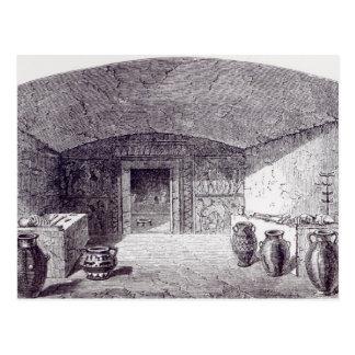 Grotta Campana a la hora de su descubrimiento Postal