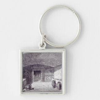 Grotta Campana at the time of its discovery Key Chains