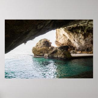 Grotte del Bue Marino Póster