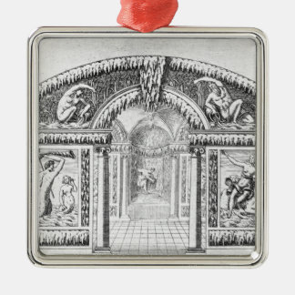 Grotto design from 'The Gardens of Wilton', publis Metal Ornament
