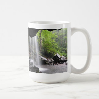 Grotto Falls Great Smoky Mountain National Park Mu Coffee Mug